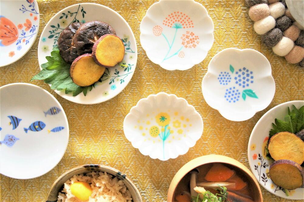 小皿が可愛い『ハレクタニ』で秋の食卓