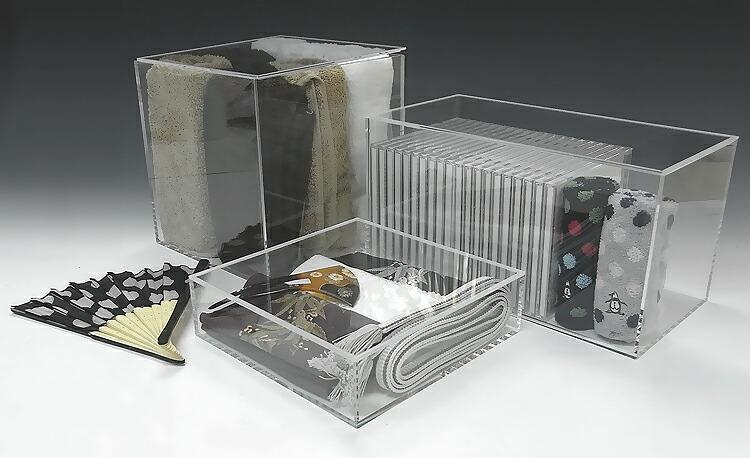 アクリル透明収納BOX