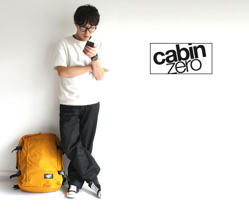 cabin zero モデル オレンジチリ