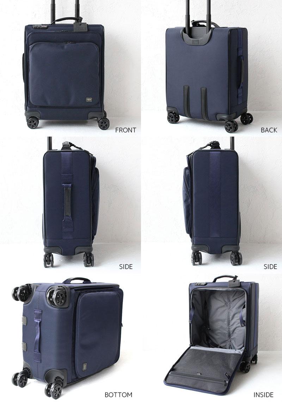 ポーター タイム スーツケース トロリーバッグ(M) 655-17870 ディティール01