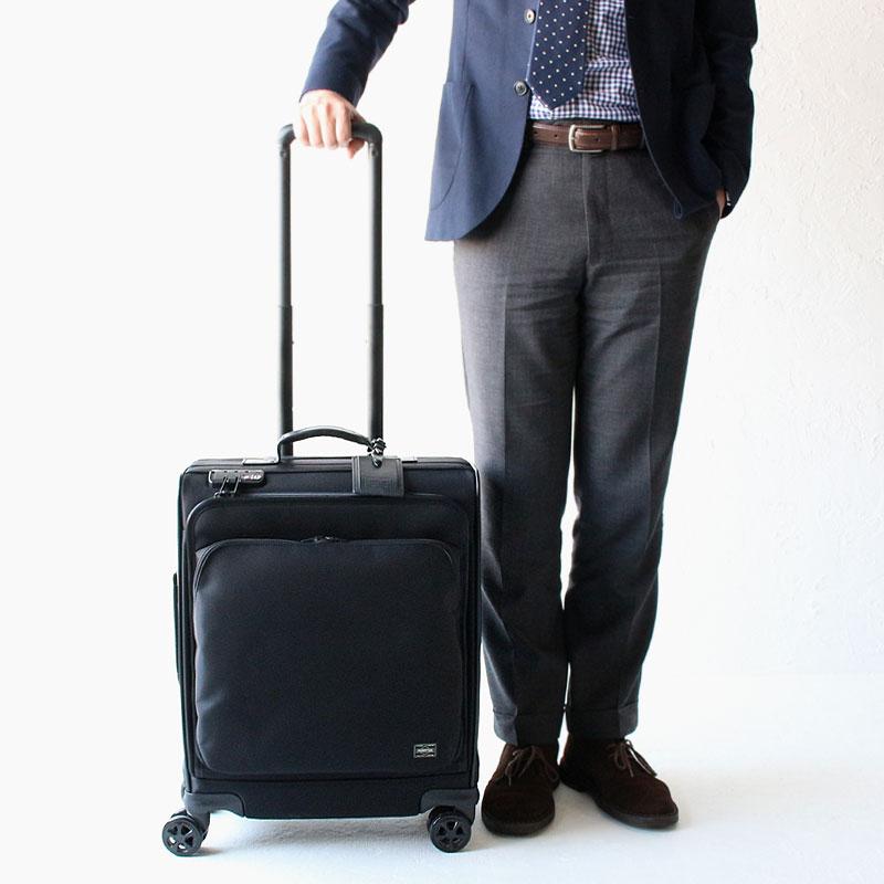 ポーター タイム スーツケース トロリーバッグ(M) 655-17870 モデル01