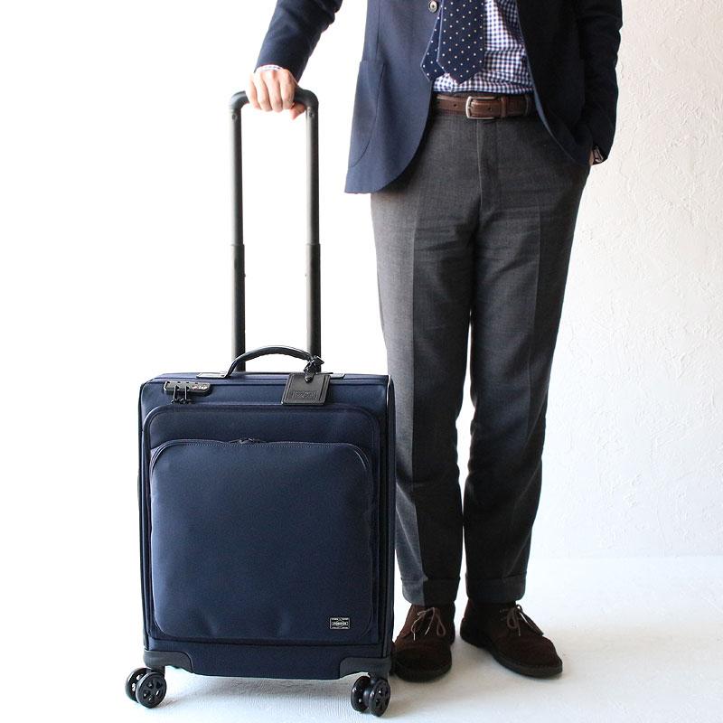 ポーター タイム スーツケース トロリーバッグ(M) 655-17870 モデル02