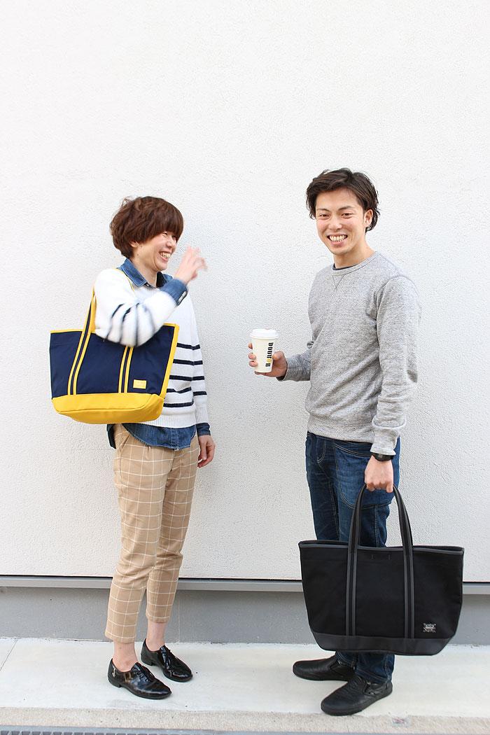 吉田カバン ポーターガール ボーイフレンド トートバッグ(M) 739-08514 イメージ画像01