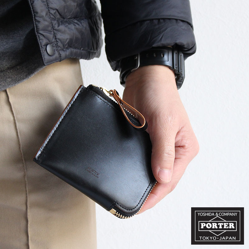 fcd3302442a6 吉田カバン ポーター フィルム L字型ファスナー財布 PORTER FILM WALLET ...