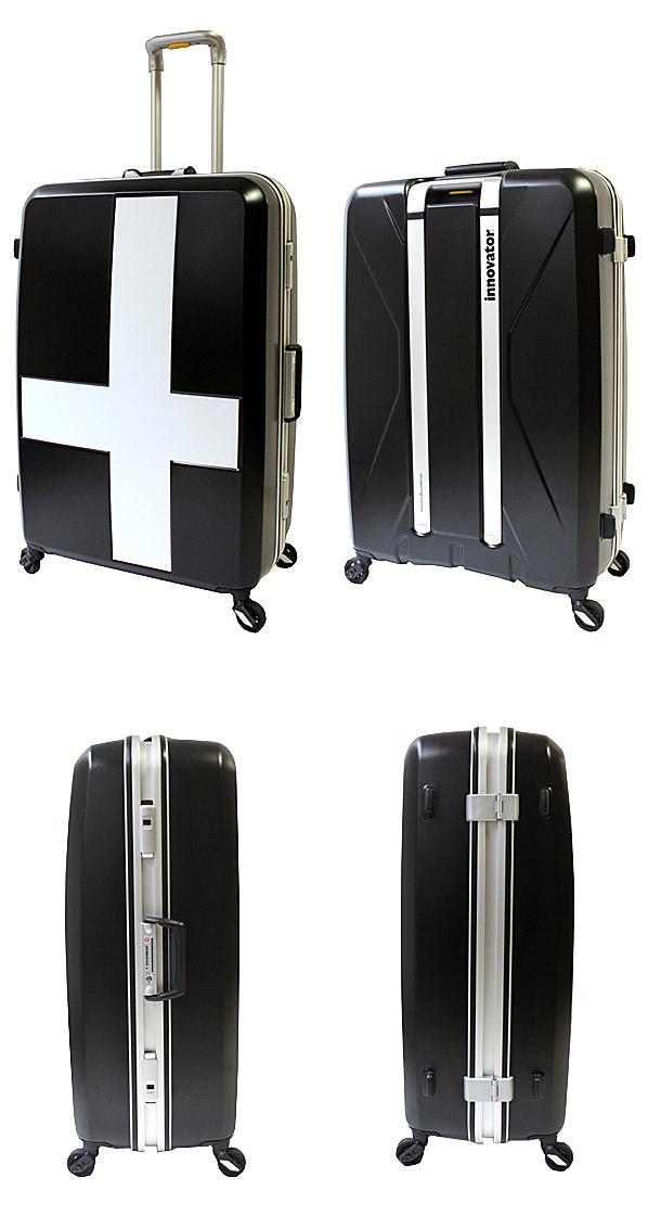 イノベーター スーツケース 前後左右の詳細