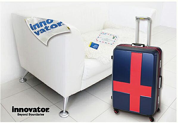 イノベーター 2カラー スーツケース フレーム カードキータイプ 安心のTSAロック 60L