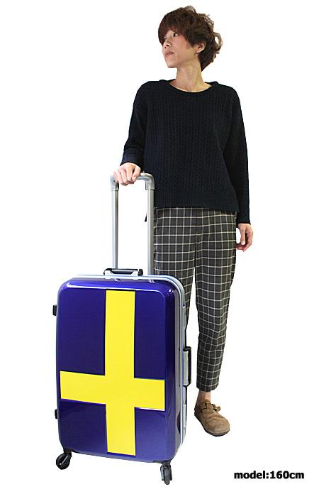 イノベーター 2カラー スーツケース フレーム カードキータイプ 安心のTSAロック 60L モデル写真