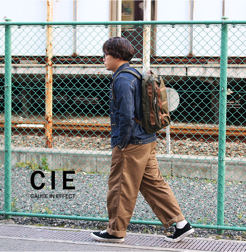 CIE GRID 2WAY BACKPACK 01 シー グリッド 2ウェイ バックパック