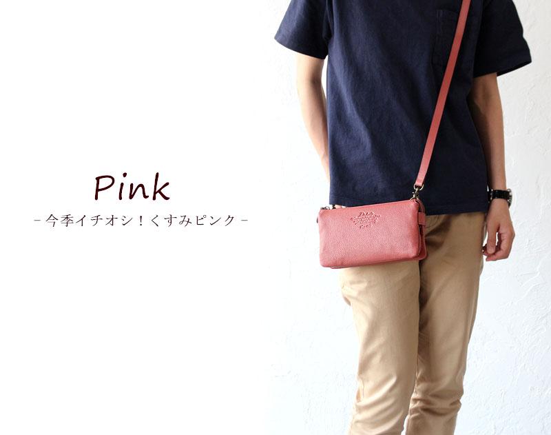 ダコタ 新色ピンク