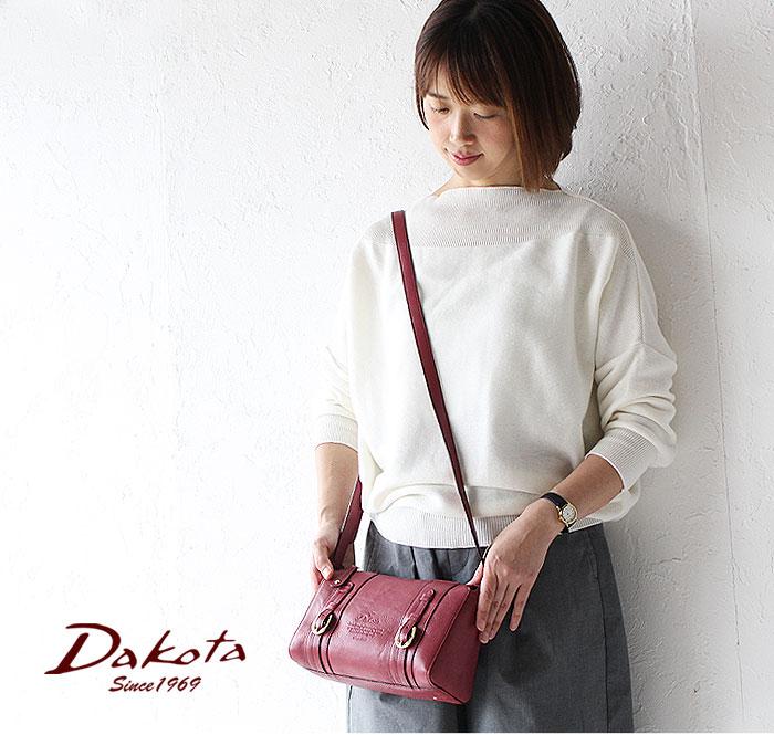 ダコタ Dakota キューブ 日本製 牛革 ショルダーバッグ 1030300