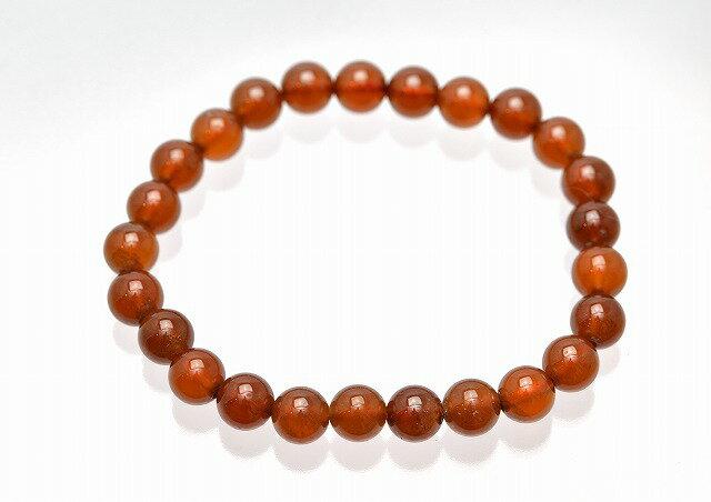1月の誕生石のパワーストーンブレスレット/オレンジガーネット