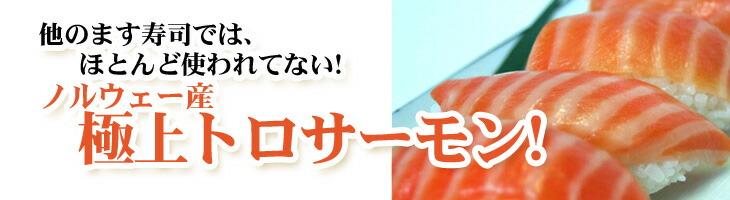 ノルウェー産トロサーモン 富山県 特産品 トロ特上ます寿司 ヒロ助こだわり 食品企画kono.