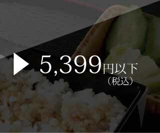 5,399円以下