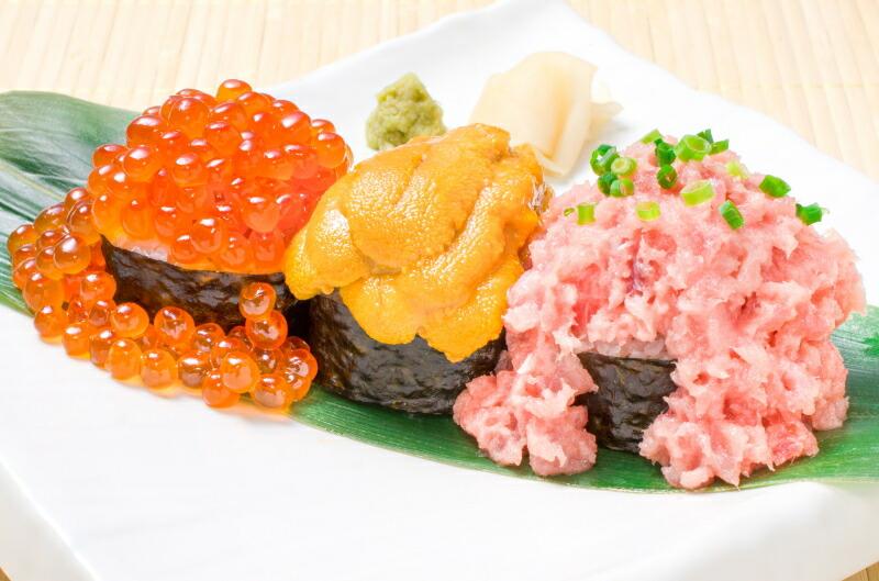 王様のネギトロ こぼれ寿司