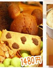かごの焼き菓子セット2