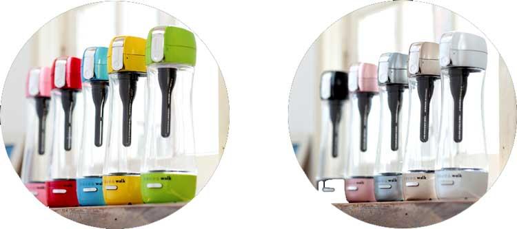 ポータブル充電式水素水ボトル「GAURA WALK」ガウラウォーク