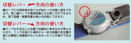【藤井電工】 2WAYリトライト TRL-593 【一般高所作業用安全帯/ツヨロン】
