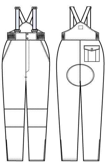 【サンエス】 冷凍倉庫用防寒パンツ BO8005 【作業着/防寒対策】