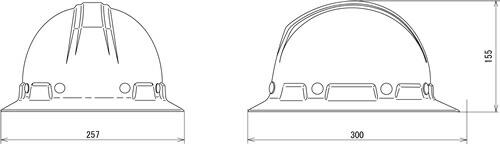 【谷沢/タニザワ】 FRP素材ヘルメット ST#177-SH (ライナー入) 【作業/防災/安全】