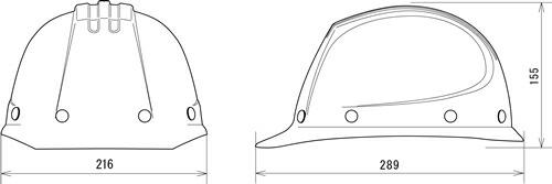 【谷沢/タニザワ】 FRP素材ヘルメット ST#101-EPZ (ライナー入) 【作業/防災/安全】