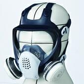 【シゲマツ】防毒マスク GM185-1【ガスマスク/作業】
