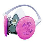 【3M/スリーエム】 取替え式防塵マスク 6000/2091-RL3 【粉塵/作業/医療用】
