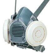 【シゲマツ】 取替え式防塵マスク DR80SL4N-RL3 【粉塵/作業/医療用】