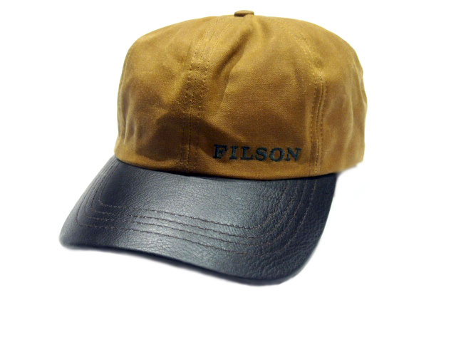 227afdb7806 travels  FILSON (Filson)  30038 TIN CLOTH LEATHER CAP khaki ...