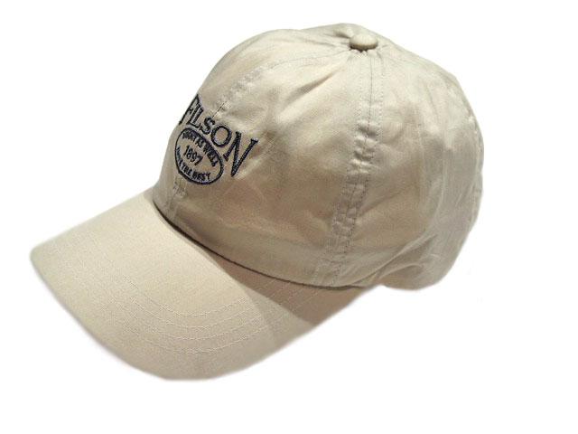 travels  FILSON (Filson)  54028 LIGHT WEIGHT ANGLER CAP ivory ... 79cc8e5e2a7