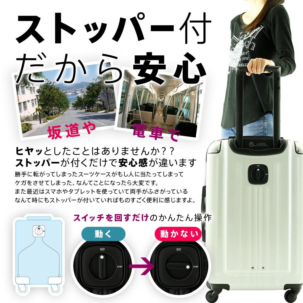スーツケース 5083 ストッパー