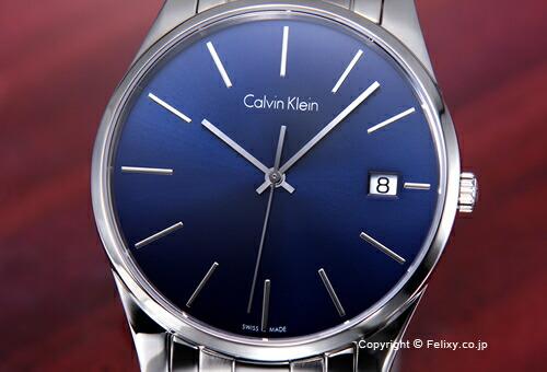 【Calvin Klein】カルバンクライン 腕時計 Ck Time (シーケー タイム) ブルー メンズ K4N2114N