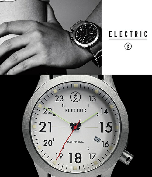 【ELECTRIC】エレクトリック 腕時計 FW01 SS WHITE