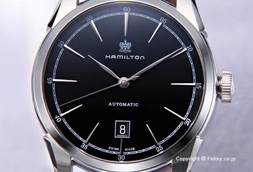 【HAMILTON】ハミルトン 腕時計 Spirit Of Liberty (スピリット オブ リバティ) ブラック/ブラックレザーストラップ H42415731