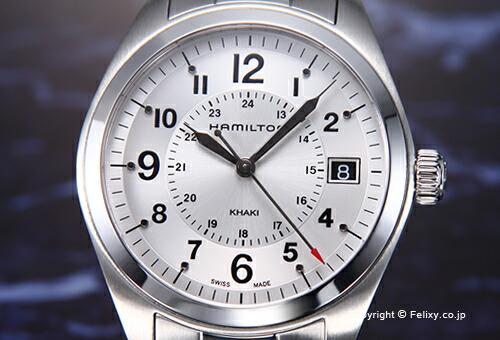 【HAMILTON】ハミルトン 腕時計 Khaki Field Quartz (カーキ フィールド クォーツ) シルバー H68551153