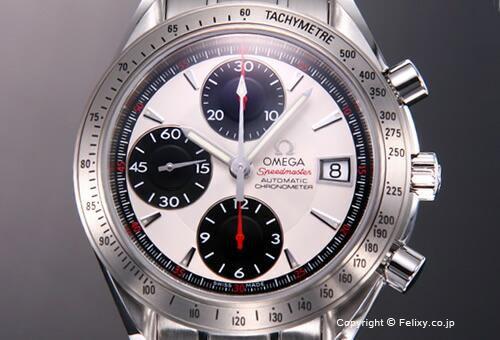 【OMEGA】 オメガ 腕時計 Speedmaster Date (スピードマスター デイト) シルバー(ブラックアイズ) 3211.31