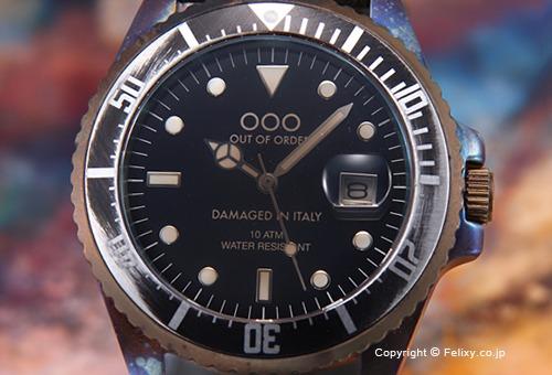 【OUT OF ORDER】アウトオブオーダー 腕時計 Botticelli 40mm (ボッティチェリ40mm) ダークグリーン 1-2VE