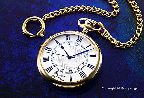 【RAPPORT】 ラポート 懐中時計(ポケットウォッチ) クォーツ PW24