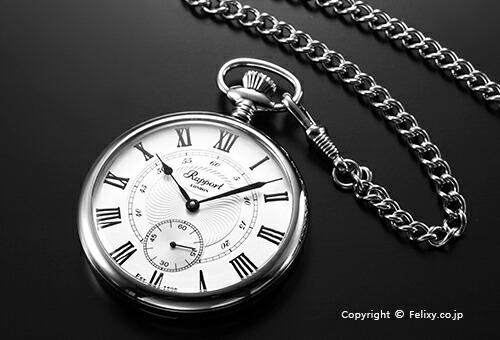 【RAPPORT】 ラポート 懐中時計(ポケットウォッチ) 手巻き PW23