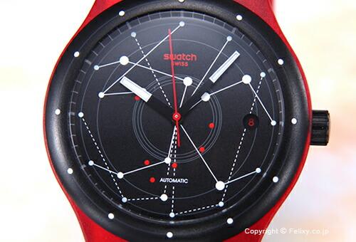 【SWATCH】スウォッチ 腕時計 Sistem 51(システム51) Sistem Red(システム・レッド) SUTR400