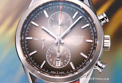 【TAG HEUER】タグホイヤー Carrera 300SLR 1887 Chronograph (カレラ 300SLR 1887 クロノグラフ) 限定モデル CAR2112.FC6267