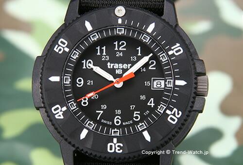 【TRASER】トレーサー 腕時計 Code Blue Nato (コード・ブルー) ブラック P6508.400.37.01