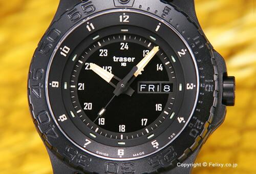 【TRASER】トレーサー 腕時計 Type6 Mil-G Sports Sand (タイプ6 ミル-G スポーツ サンド) ブラック P6600.2AAI.L3.01 SAND