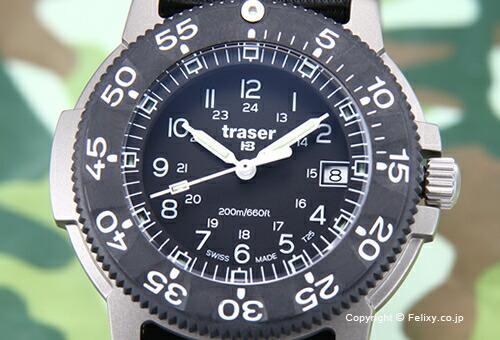【TRASER】トレーサー 腕時計 Commander Force (コマンダー フォース) TI(チタン)/ブラック P6506.430.32.02