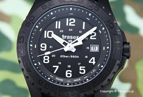 【TRASER】トレーサー 腕時計 Outdoor Pioneer (アウトドア パイオニア) ブラック 9031559
