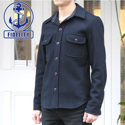 Yankee navy for Fidelity cpo shirt jacket