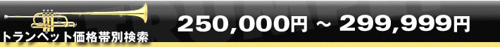トランペット価格帯別検索250000〜299999円