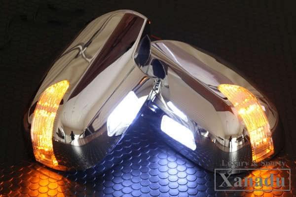 ドアミラーウィンカーカバーLED ランクル100系 ランドクルーザー100系 シグナス/UZJ100W/HDJ101K/前期/後期