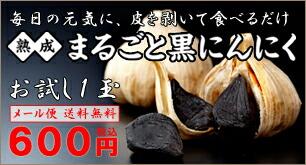 黒にんにく600円