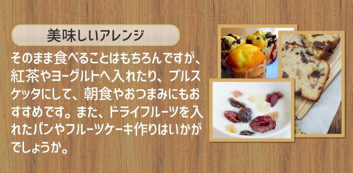 国産ドライフルーツ 5種