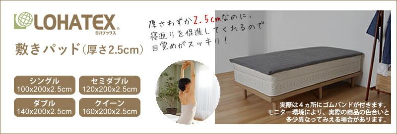 LOHATEX敷パッド2.5cm